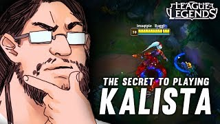 Imaqtpie - THE SECRET TO PLAYING KALISTA... 🤔