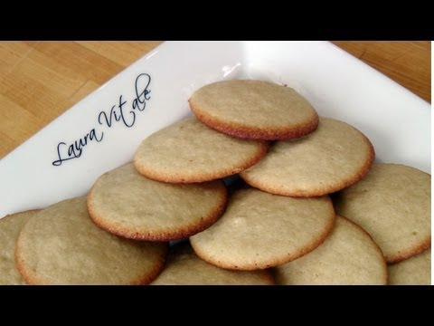 Soft Vanilla Sugar Cookies – Recipe by Laura Vitale – Laura in the Kitchen Ep 198