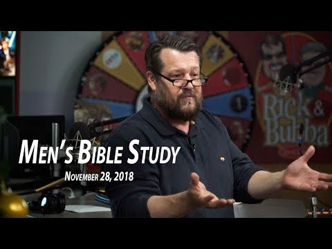 Study of James Pt. 1 – Men's Bible Study by Rick Burgess – Nov. 28, 2018