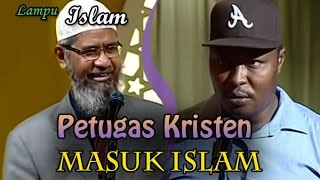 Petugas Keamanan Kristen Masuk Islam di Acara Dr. Zakir Naik