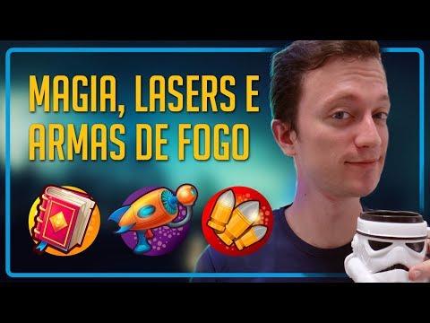 Magia, Lasers e Armas de Fogo #1 - 3 LIVROS DIFERENTES! | Dicas Heroicamente | Episódio #43
