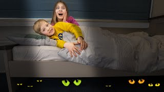 Amelia bedtime stories, Akim has bad dreams about a monkey - Part 2