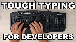 Touch Typing Makes You a Better Programmer - How to Learn the US Layout, WPM, 10 Fast Fingers.