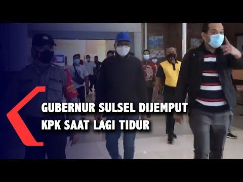 Terlibat OTT KPK, Gubernur Sulsel Nurdin Abdullah: Saya Lagi Tidur, Dijemput ya..