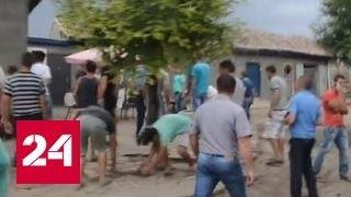 За убийство девочки одесситы всю ночь громили дома цыган