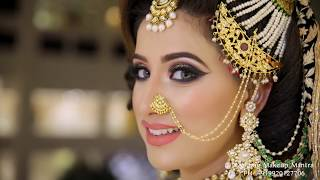 The Most Talked About Asian Bridal Magical Finish By Anurag Makeup Mantra. Call : 9920127706