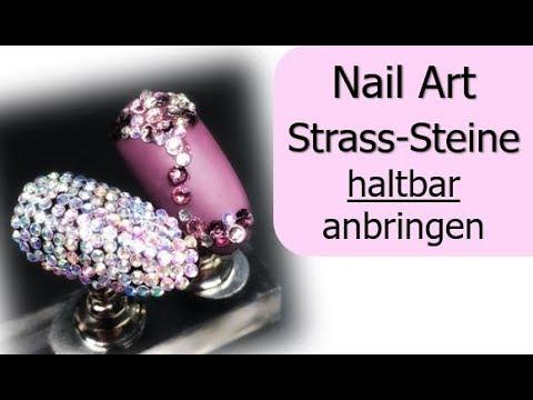 So halten Strass-Steine garantiert!!!  / Nailart / Nagelmodellage