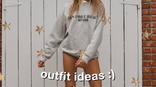 SUMMER OUTFIT IDEAS  (simple + Cute)