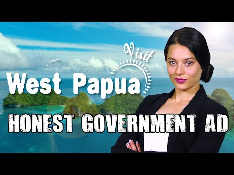 Honest Government Ad | Visit West Papua! [Blocked in Indonesia]