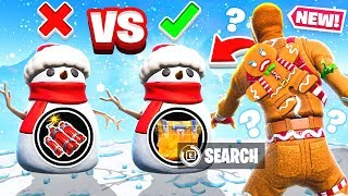 CHOOSE the SNOWMAN Game Mode in Fortnite Battle Royale