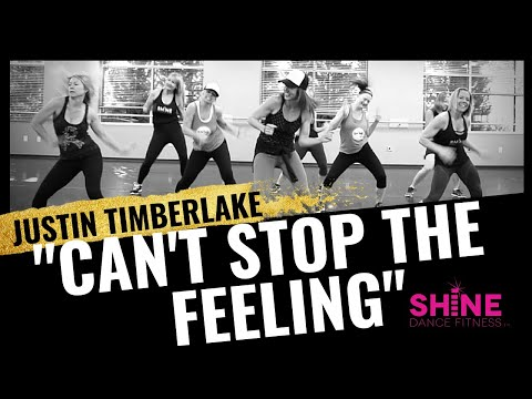 """Can't Stop The Feeling"" by Justin Timberlake. SHiNE DANCE FITNESS"