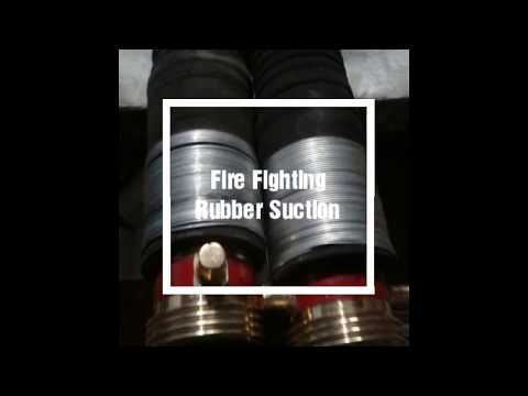 Fire Fighting Rubber Suction Hose With Gm Fitting