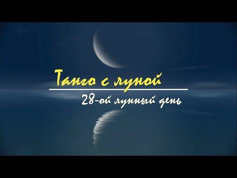 Танго с Луной. 28 лунный день. 11 - 12 марта 2021 характеристика, описание лунных суток.