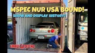 First EVER Show and Display R34 GTR MSPEC NUR to the USA