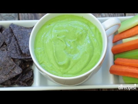 Appetizer Recipes – How to Make Avocado Spinach Dip