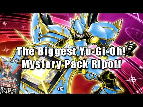 The Biggest Yu-Gi-Oh! Mystery Pack Ripoff