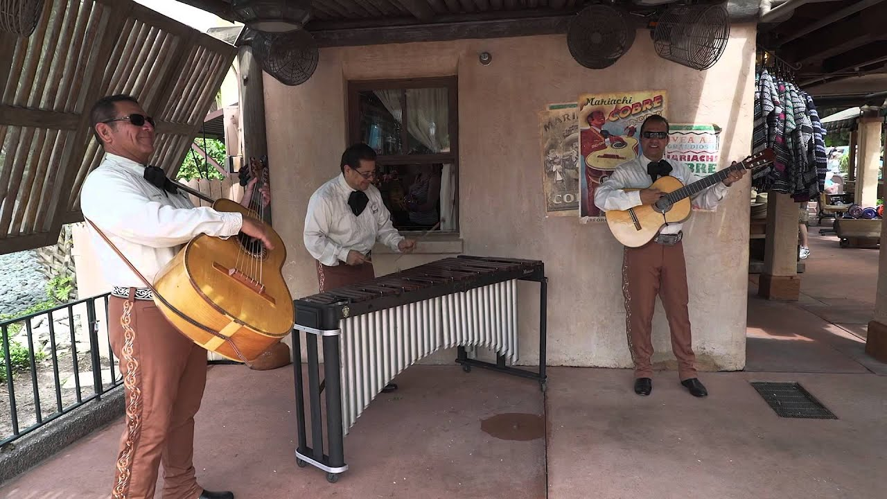 Mexican Marimba Trio performance