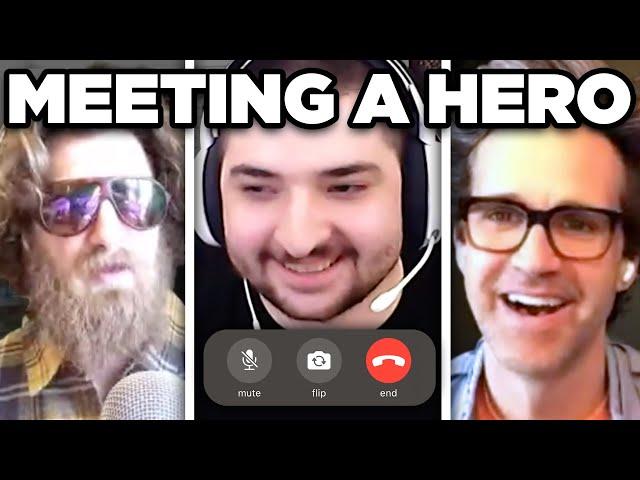 Meeting A Hero