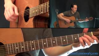 Wild Horses Guitar Lesson - The Rolling Stones - Acoustic