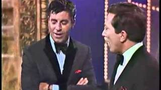 Jerry Lewis Gives Andy Williams A Dance Lesson!