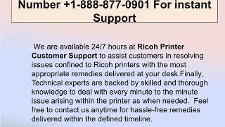 Steps To Fix Ricoh Printer Offline Error