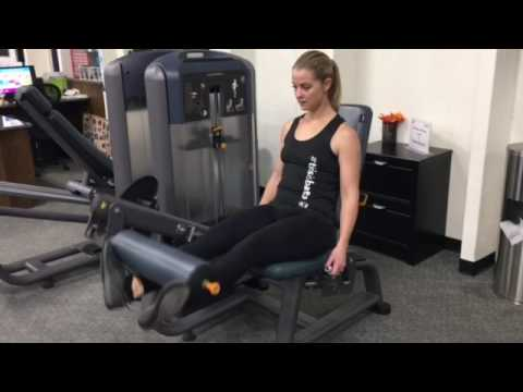 Leg Extensions with Toes Out