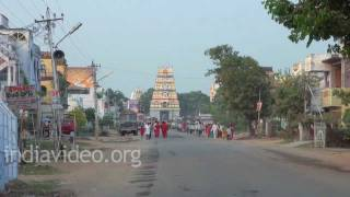 Temple Streets of Amaravathi, Andhra Pradesh