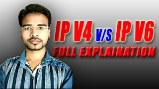 Difference Between IPv4 and IPv6 | Computer Networking Tutorial