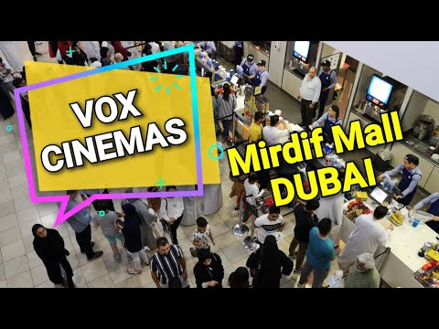 Inside VOX Cinema Mirdif City Centre Dubai