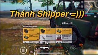 PUBG Mobile | Gặp Phải Thánh Shipper Max Giàu - Chiến Thuật Lấy TOP 1 √