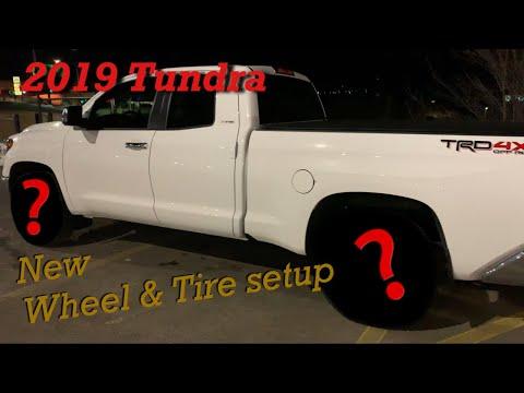 """2019 Tundra 33"""" Falken Wildpeaks on VTX wheels"""