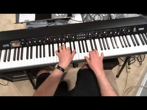 Bloody Well Right by Supertramp - Wurly intro on a Korg SV1