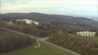 preview picture of video 'DJI F550 Hexacopter hard landing, H3-2D Flug über Klosterneuburg'
