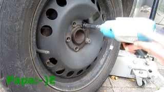 Reifenwechsel - Rad festgerostet - Lösung VW-T4 - Zafira B - Andere