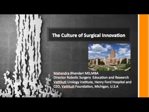 The Culture of Surgical Innovation