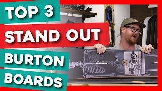 Top 3 Stand Out Burton Snowboards Of 2020