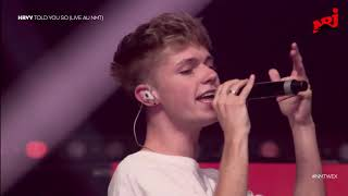 HRVY   Told You So | NRJ MUSIC TOUR WEX