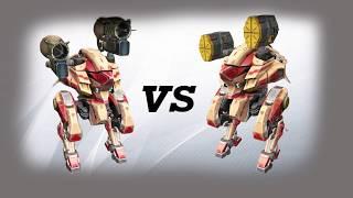 kumiho (taran) vs kumiho (orkan) Test | War Robots