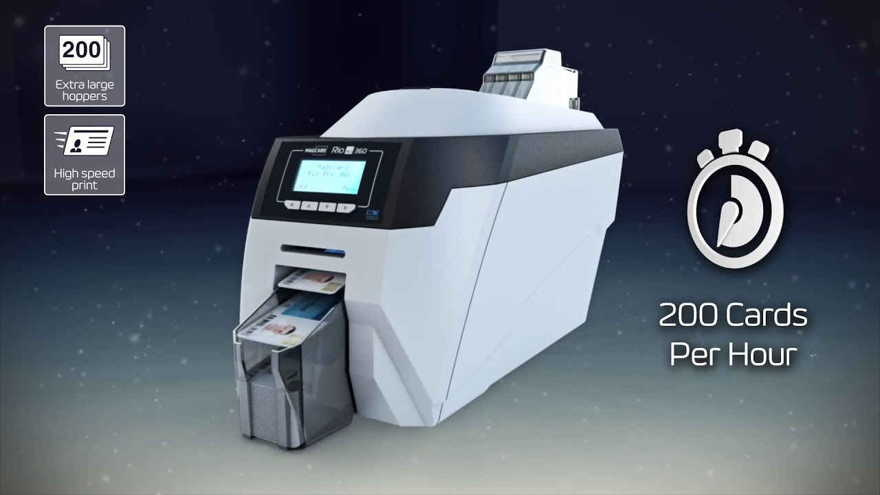 Magicard Rio Pro 360 ID Card Printer - Overview