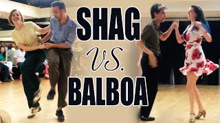 Shag Vs. Balboa Competition - Atomic Ballroom