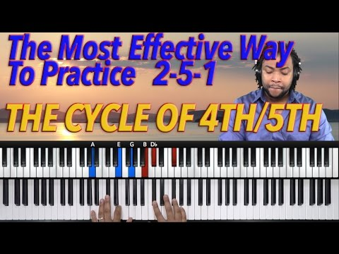 #18: The Most Effective Way To Master 2-5-1 Progressions Using The Cycle of 4th/5th