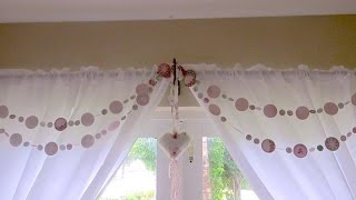 Chic and Cheap: Pretty Paper Garland Tutorial