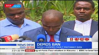 NASA presser on demos ban