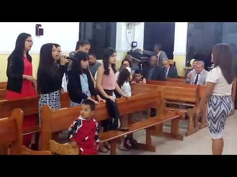 ADD Boa Esperança II 02/06/2018   Crianças cantam: Grande Eu Sou