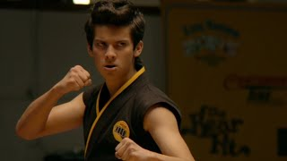 Gambar cover Miguel Becomes a Beast - Cobra Kai [Can't Hold Us - Macklemore (ft. Ray Dalton)]
