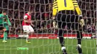 Arsenal Football Club, Арсенал 2-1 Барселона(ВСЕ ГОЛЫ!!)[16.02.2011]