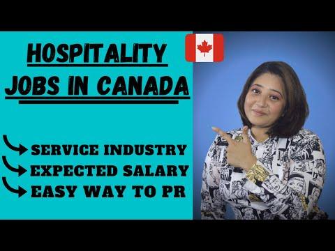 HOSPITALITY JOBS IN CANADA || HOSPITALITY MANAGEMENT || HOSPITALITY & RESTAURANT INDUSTRY IN CANADA