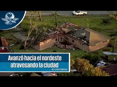 Tornado causa graves daño en Dallas y deja a miles sin electricidad