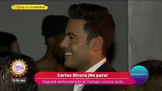 Carlos Rivera confiesa que desea ser padre | Sale el Sol