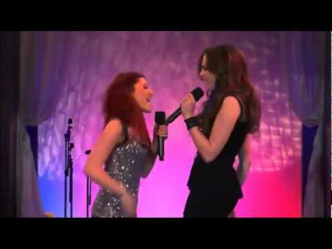 Cat singing with Jade on Victorious